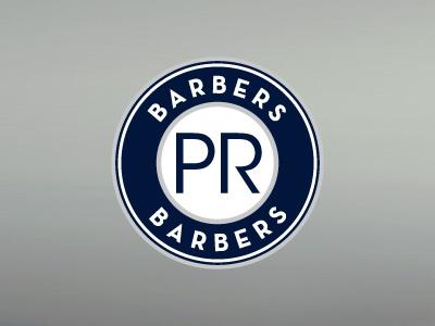 PR Barbers Logo